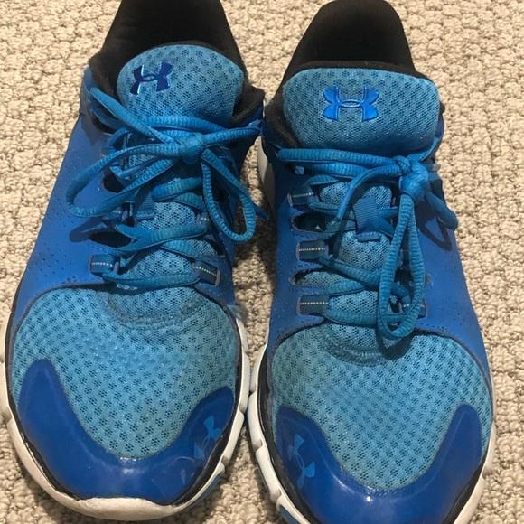Under Armour Shoes   Blue Tennis Mens